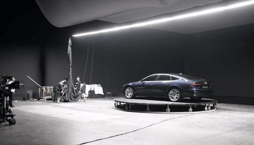 汽車攝影棚