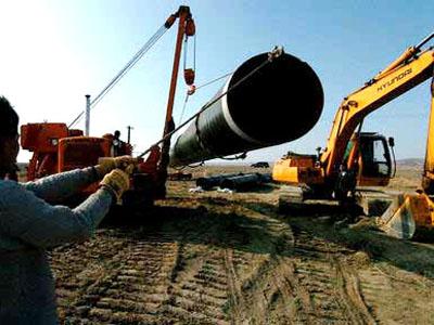 防腐鋼管應用于中哈石油管道