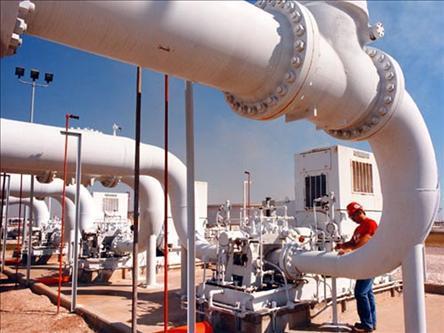 螺旋鋼管應用在安陽北方燃氣有限公司