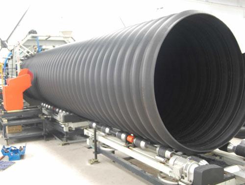 螺旋鋼管應用在地下排水工程