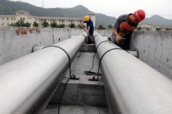 螺旋鋼管應用在污水處理工程