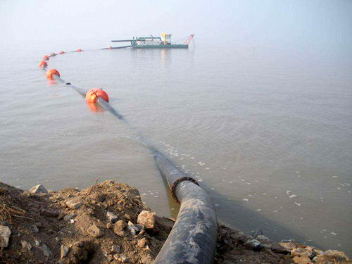排泥用疏浚防腐螺旋焊接鋼管