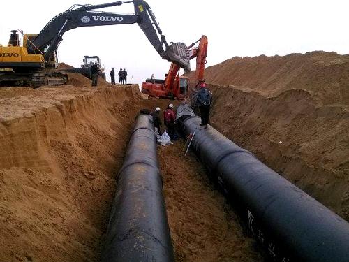 輸水用3pe防腐螺旋焊接鋼管