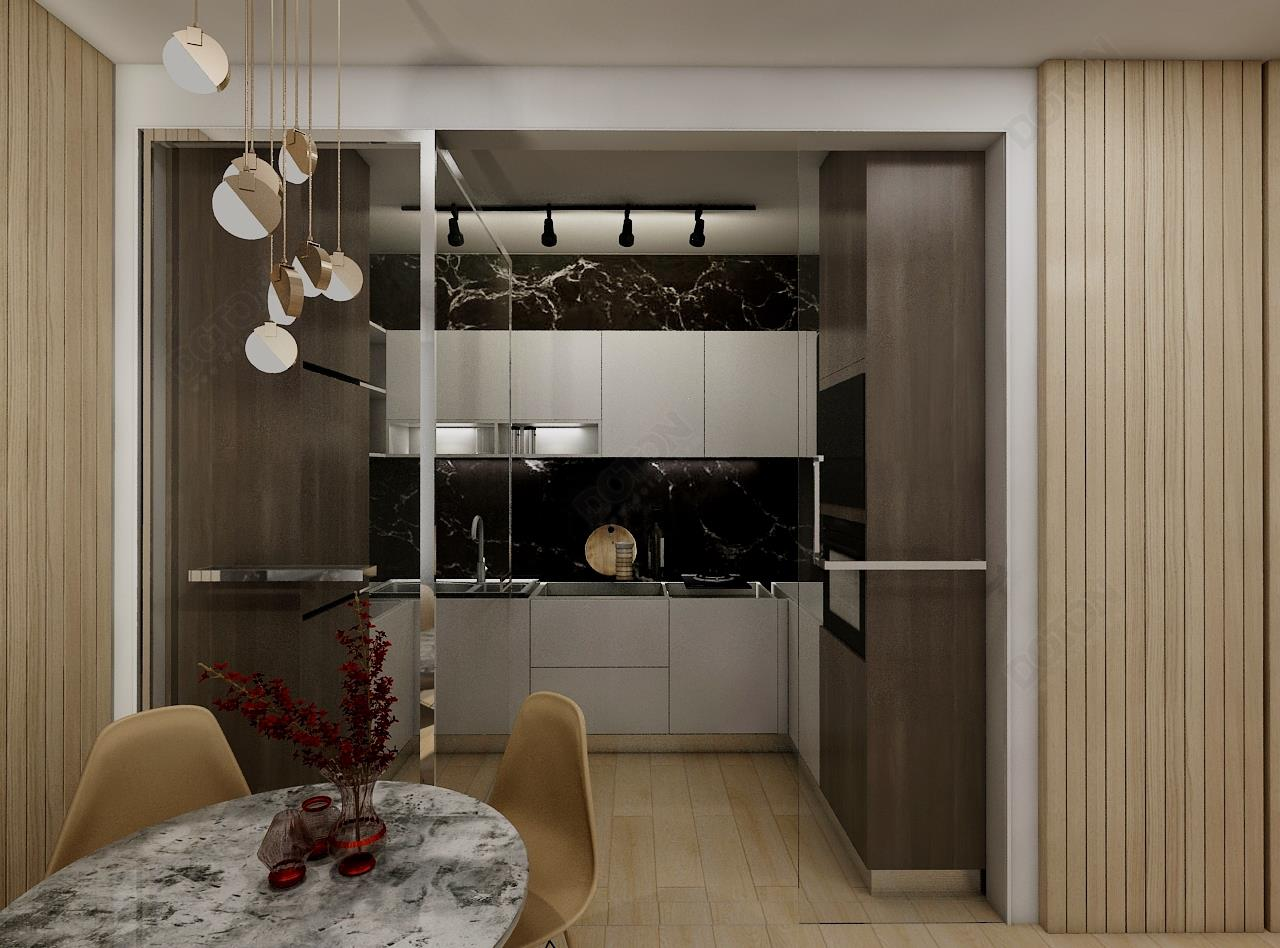 香杉木廚房