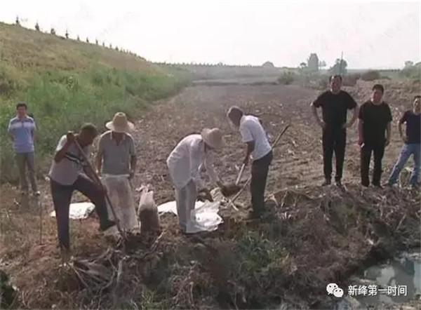 702新绛县水利局封堵部分排污口,使汾河少些污染