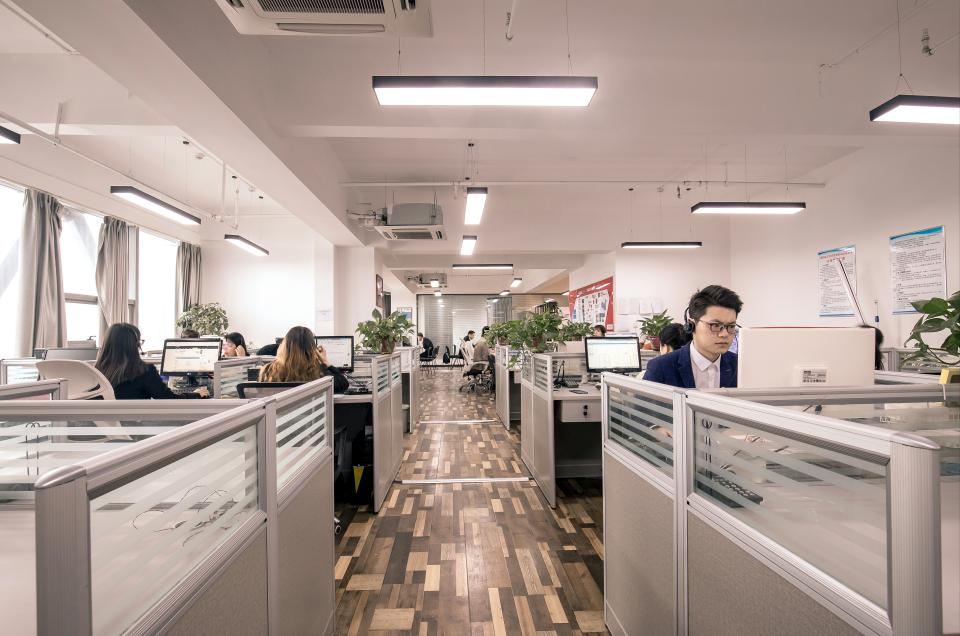 广场办公室-办公环境