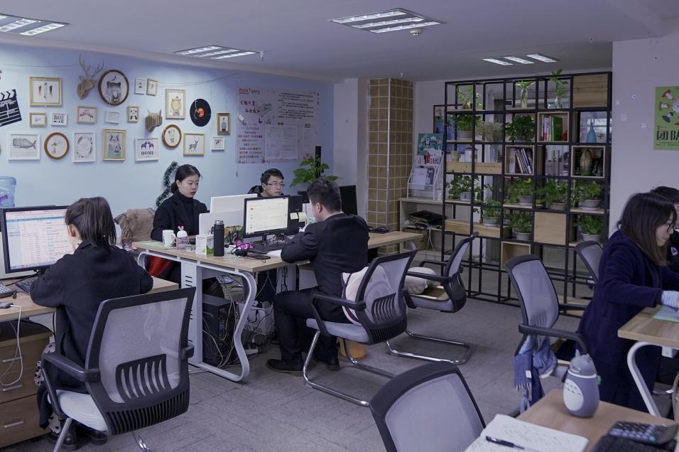 daisy团队-办公环境