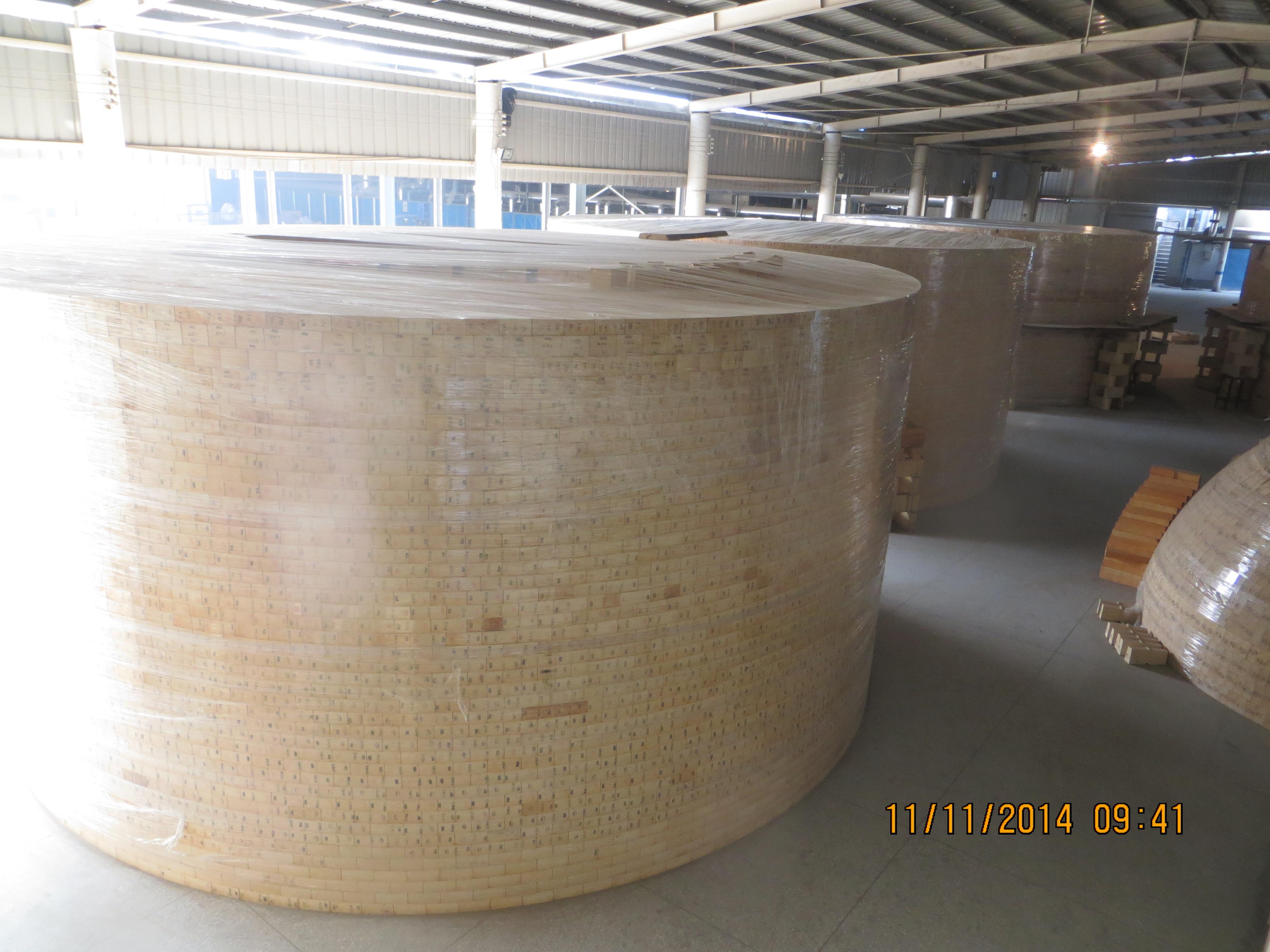 宝钢湛江5050m³高炉热风炉燃烧器组合砖