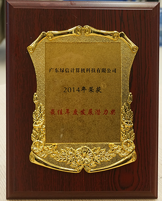 年度发展潜力奖