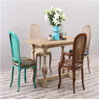 实木西餐桌西餐厅家具