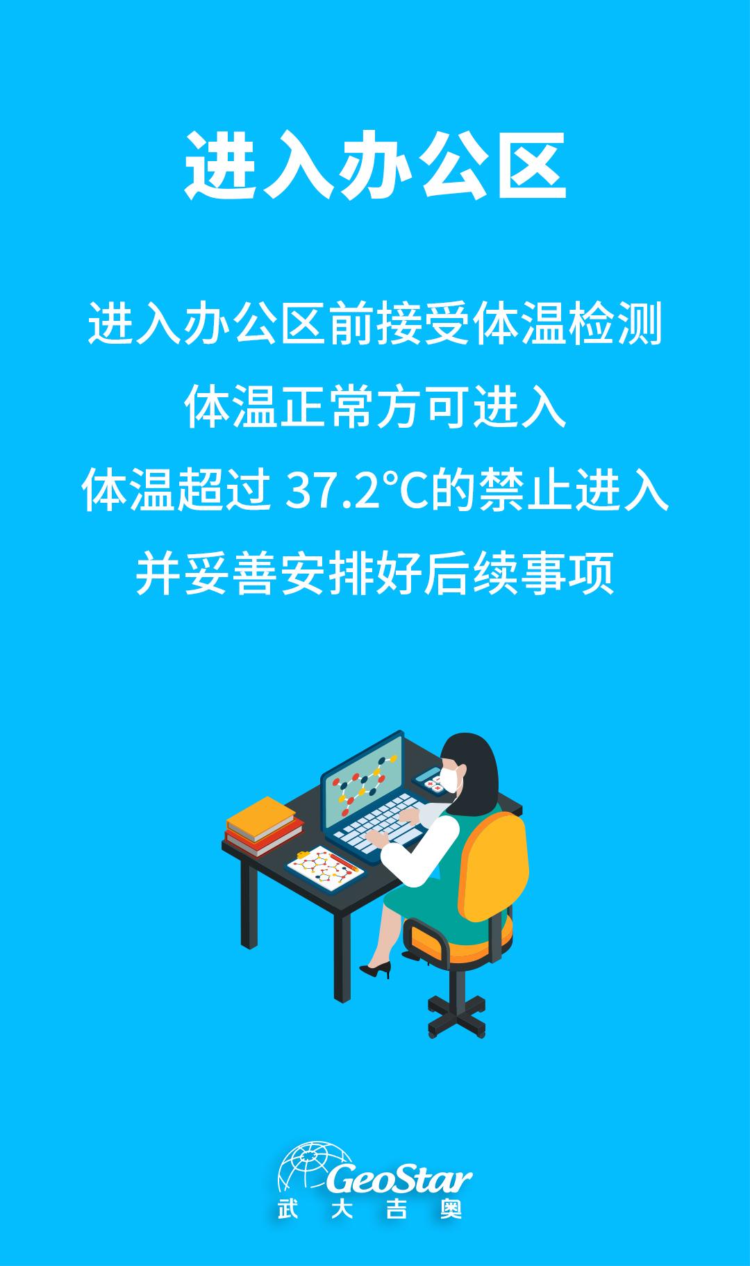 4.地信企业复工防疫指南-进入办公区