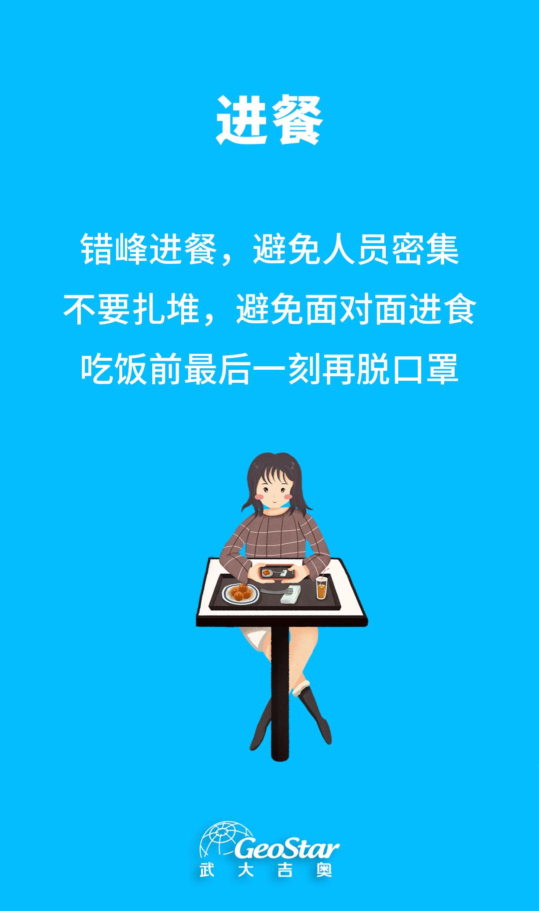 10.地信企业复工防疫指南-进餐