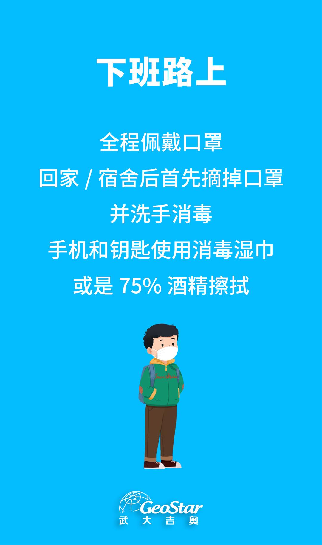 12.地信企业复工防疫指南-下班路上
