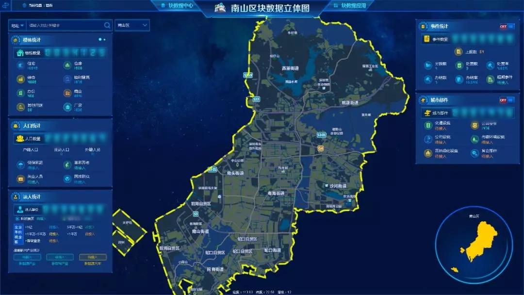 深圳市市域社会治理平台