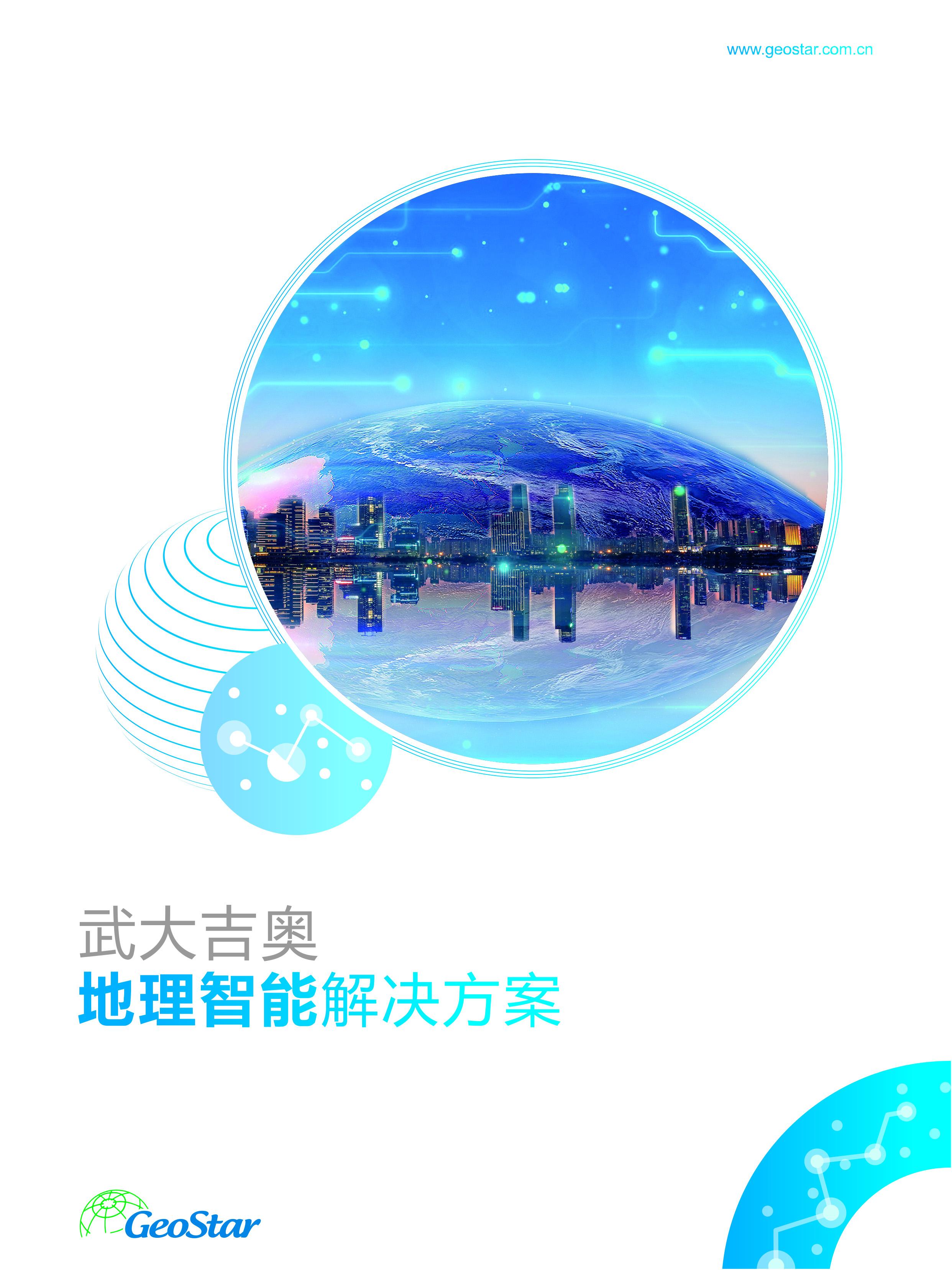 武大吉奧地理智能解決方案-封面圖