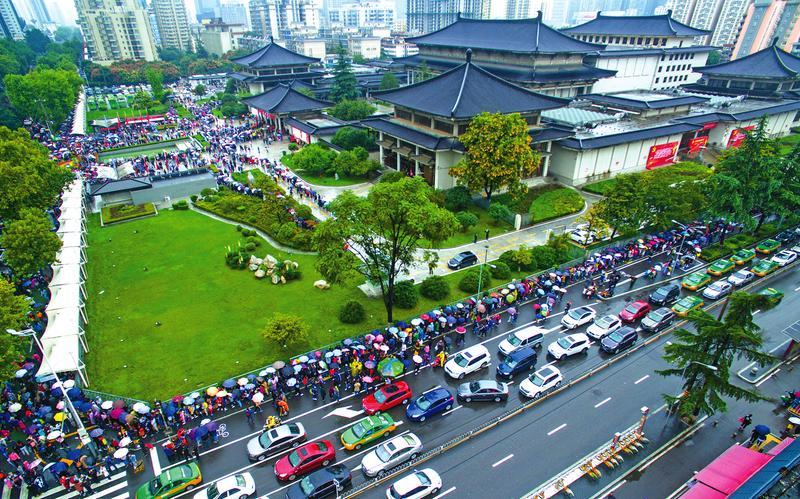 旅游业为陕西假日经济增色添彩