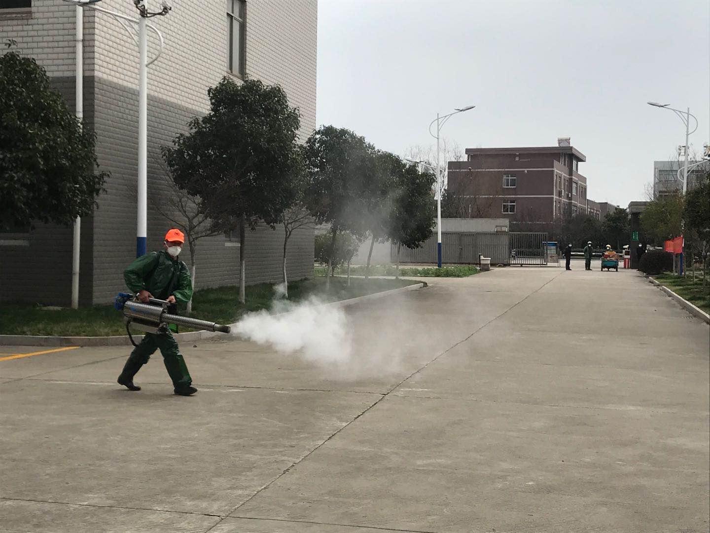 厂区弥雾机消毒
