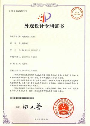 09-电蚊拍外观专利