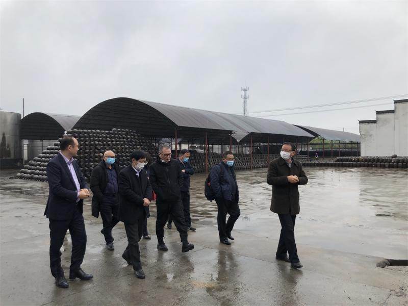 浙江企業家考察團赴茶業集團洽談茶旅項目