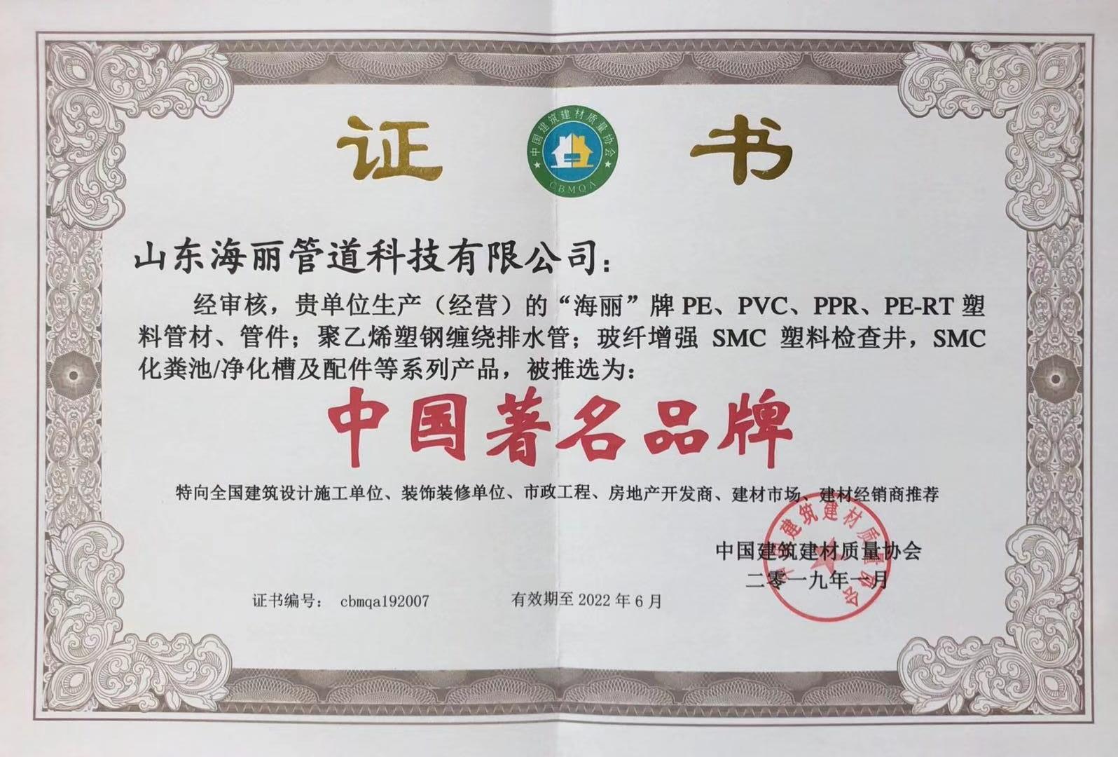 中国著名品牌_201901