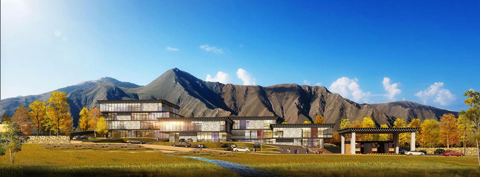 甘孜州国省干道沿线旅游综合配套服务体项目--赤土乡服务区