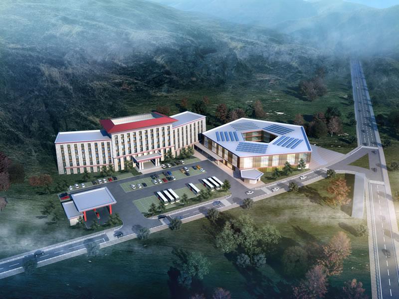 堪称完美的四川省干道沿线旅游综合服务体建设项目