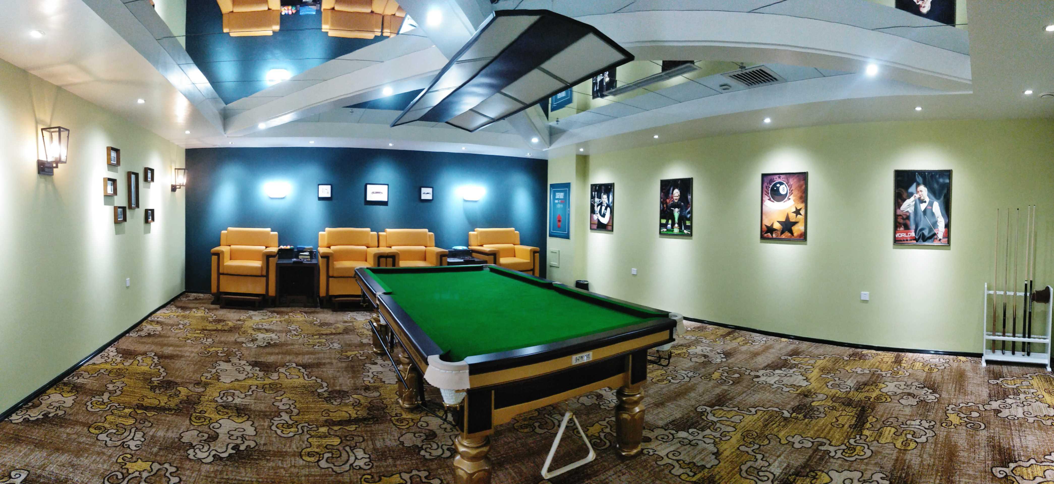 VIP臺球室