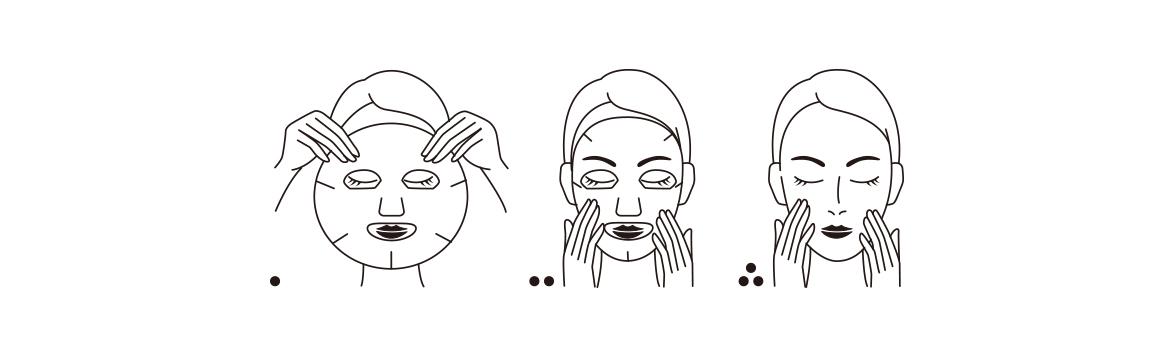 面膜使用方法