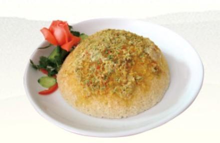 農家鍋巴菜式-蛋黃鍋巴