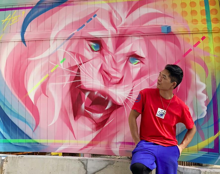 上海网红涂鸦墙打卡
