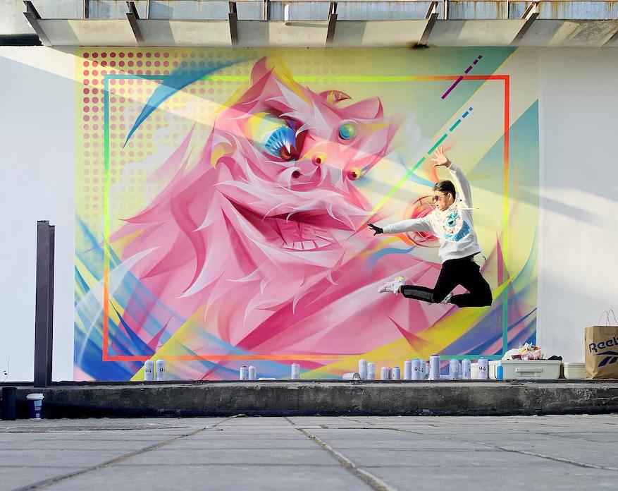 上海涂鸦打卡墙