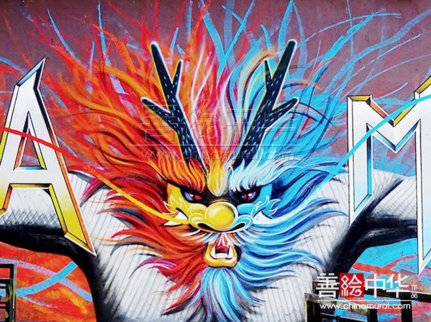 [原创设计] 何海鑫M50上海涂鸦墙