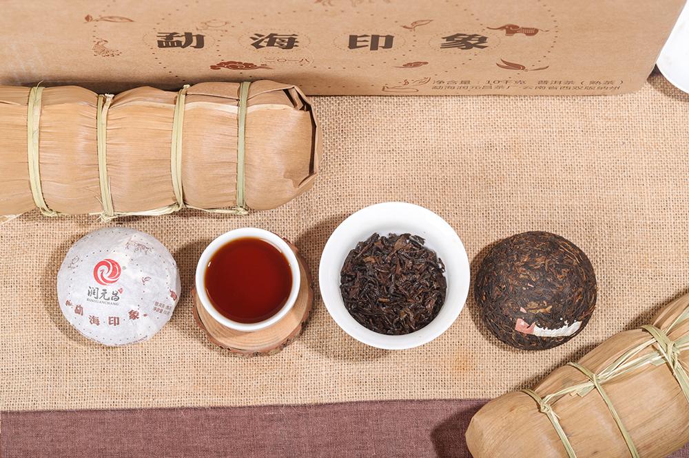 润元昌勐海印像沱茶