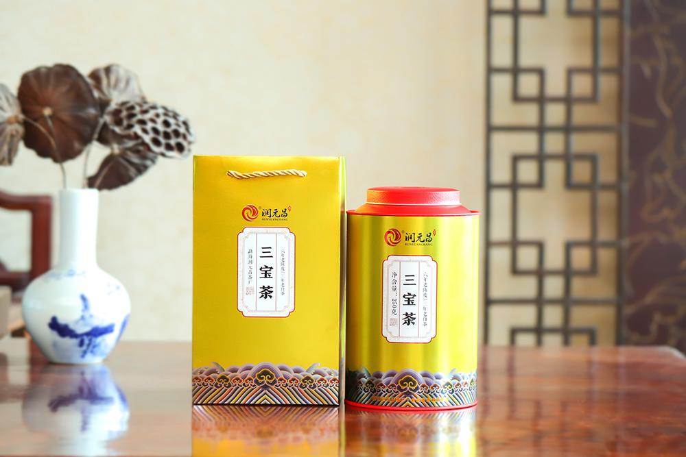 三宝茶的原材料是什么