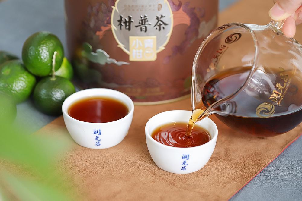 润元昌茶中凤凰小青柑口感