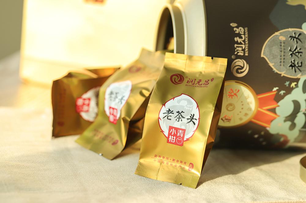 潤元昌老茶頭小青柑-IMG_9287