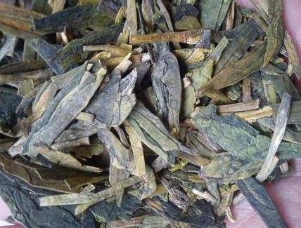 龙井茶发霉图片