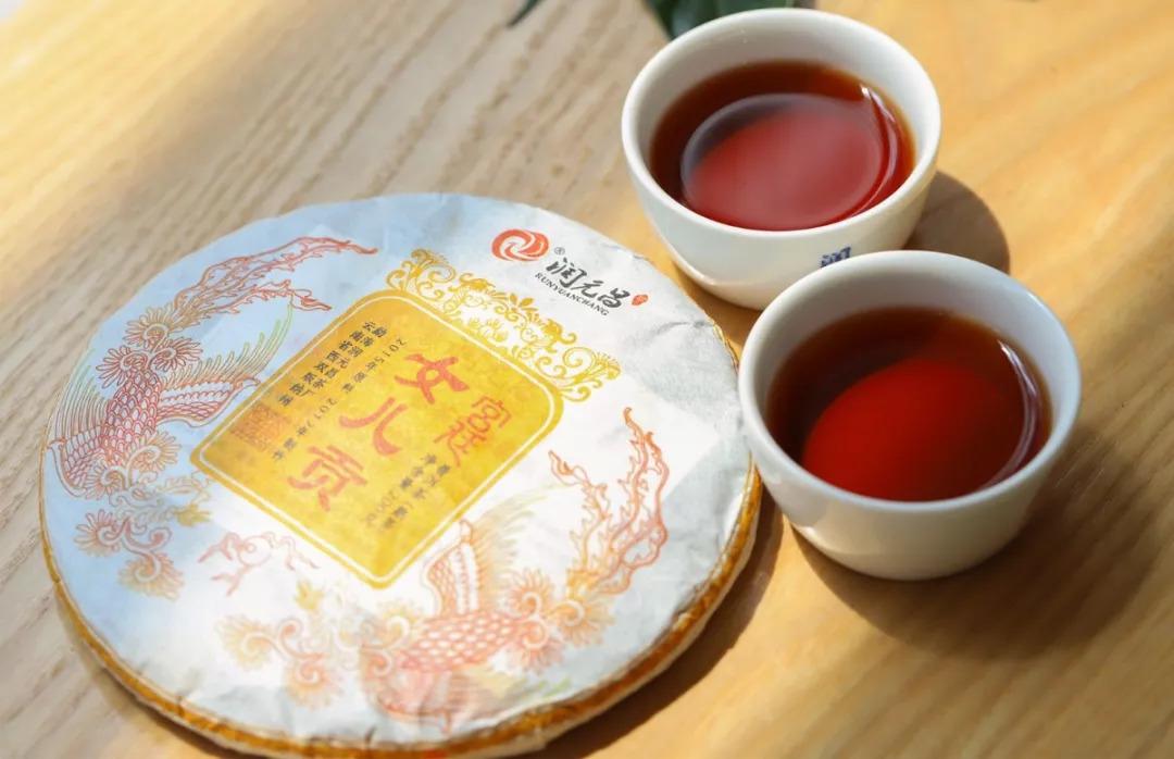 润元昌女儿贡普洱茶开汤-2