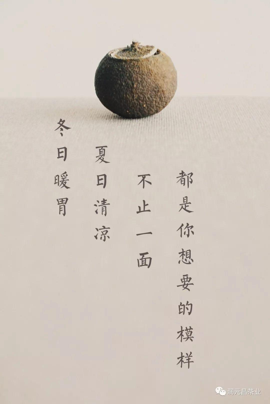 润元昌柑普茶创意海报-10