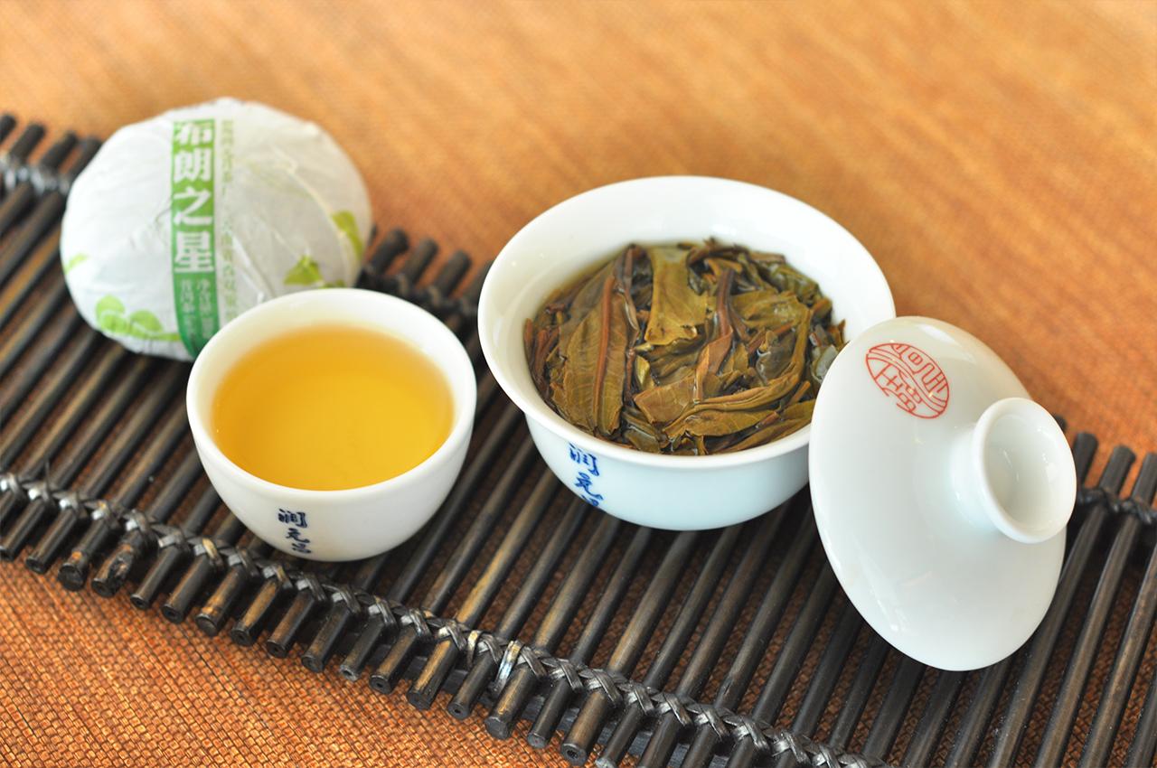 潤元昌普洱茶布朗之星沱茶葉底