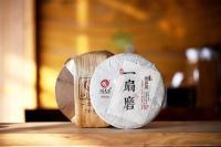 潤元昌2017年一扇磨純料普洱生茶名山純料生系列