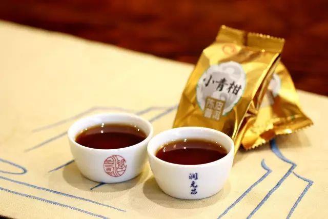 潤元昌2017-2018年阿柑先生小青柑柑普茶