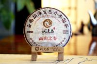 潤元昌2016年高山之春熟餅普洱熟茶春系列