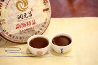 潤元昌2017年勐海精品普洱熟茶