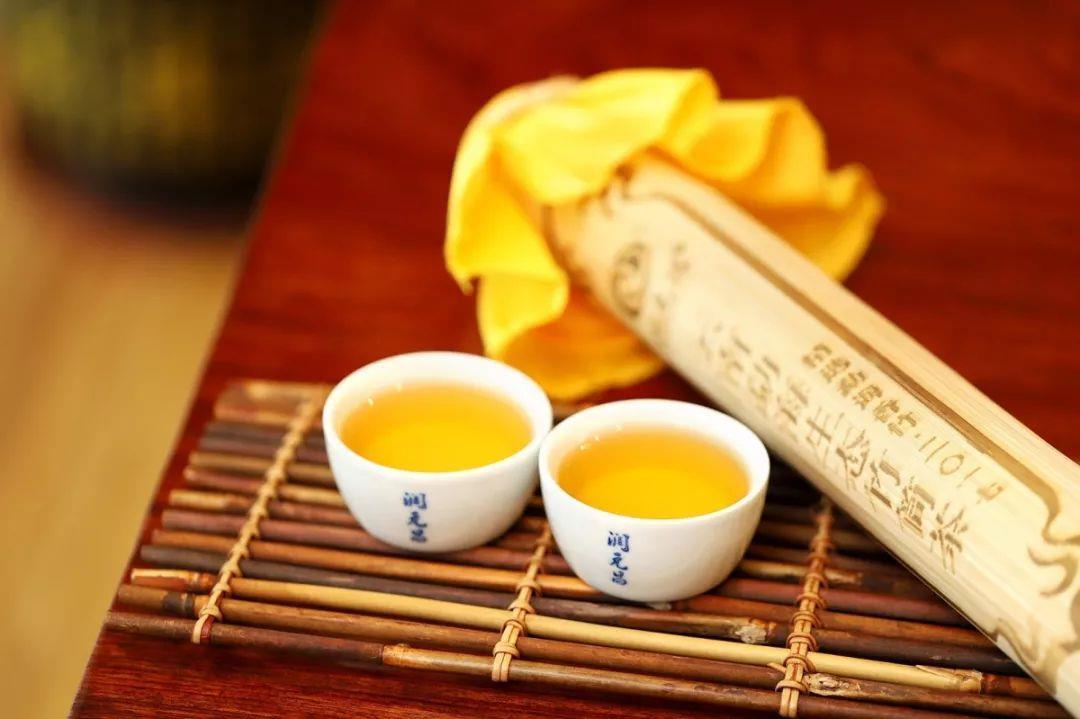 润元昌勐海竹筒茶