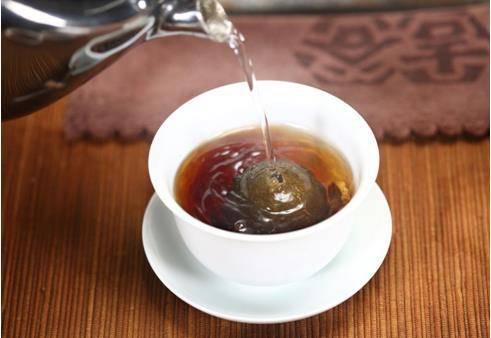 小青柑普洱茶泡法