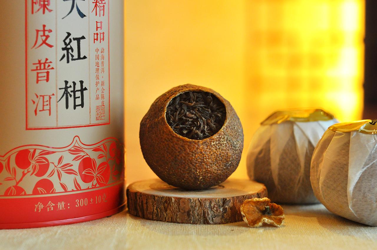 润元昌大红柑普洱茶