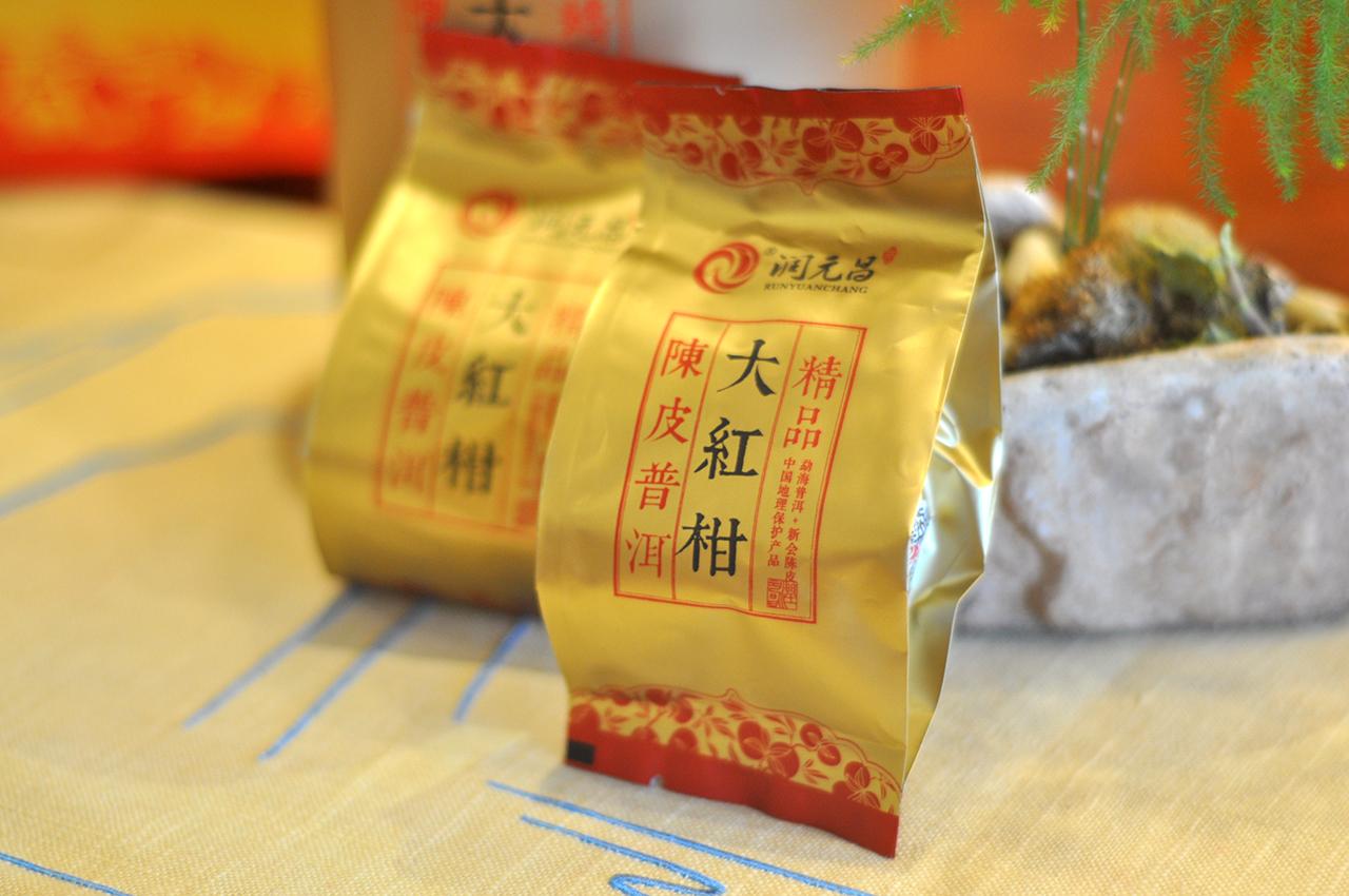 大红柑普洱茶口感怎么样