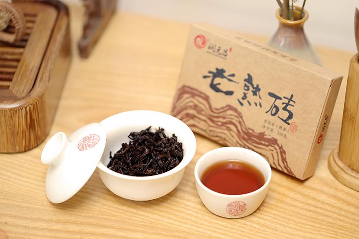 潤元昌老熟磚茶圖片