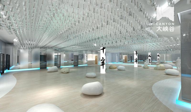 半山半岛文化展厅设计-13938323491415